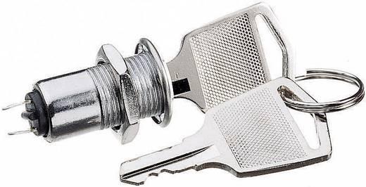 Passender Schlüsselhalter mit zwei Schlüssel.