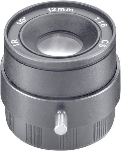 Überwachungskamera-Objektiv Brennweite 12 mm Blickwinkel 26 ° Sygonix 43191D