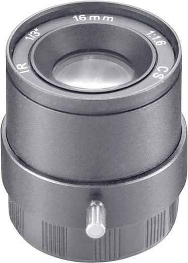Überwachungskamera-Objektiv Brennweite 16 mm Blickwinkel 19 ° Sygonix 43191C