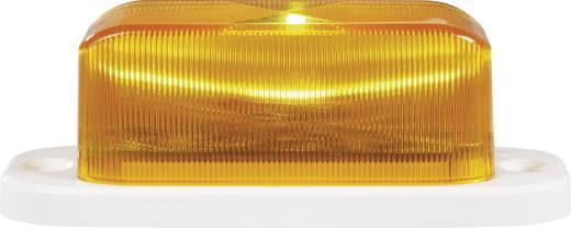 Alarm-Blitzleuchte Orange Innenbereich, Außenbereich 12 V/DC, 24 V/DC 754173