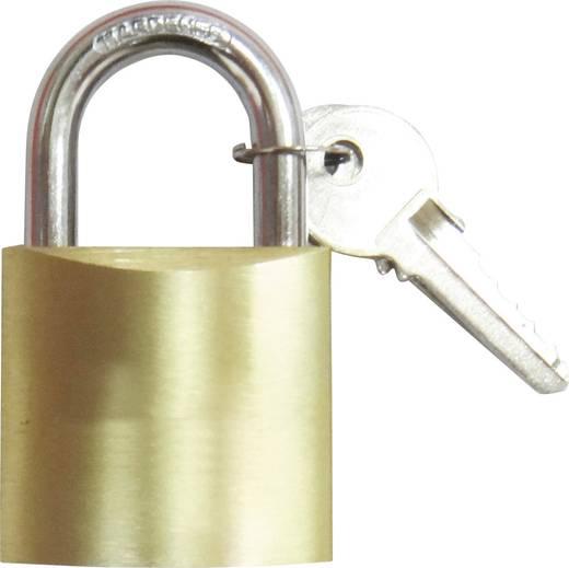 Vorhängeschloss 37 mm 754346 Messing Schlüsselschloss