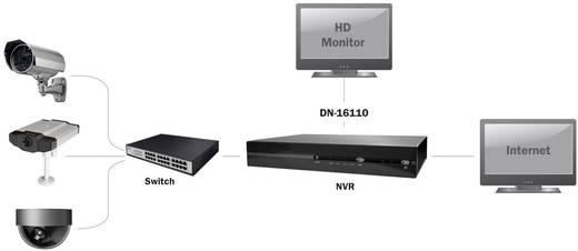 6-Kanal Netzwerk-Videorecorder Digitus Professional DN-16110
