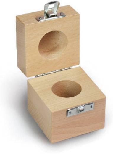 Kern 337-110-200 Holzetui, 1 x 1 kg F2 + M1, Buche