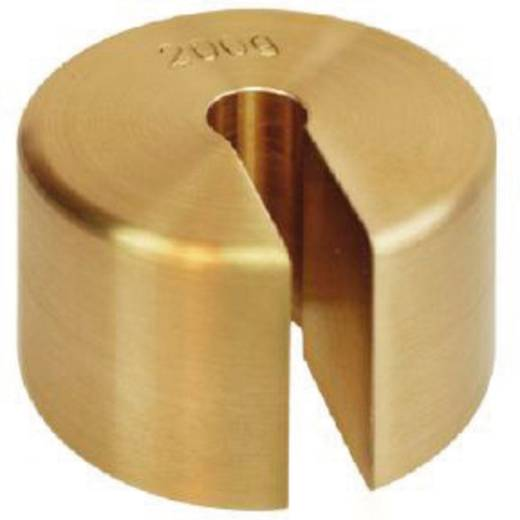 Kern 347-525 Schlitzgewicht 2 kg Messing feingedreht