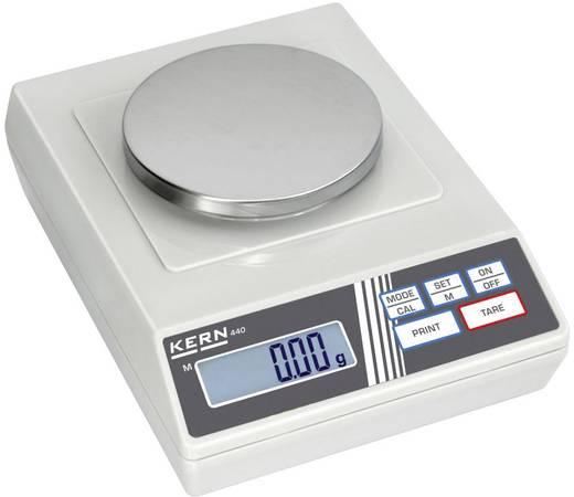 Präzisionswaage Kern 440-35N Wägebereich (max.) 400 g Ablesbarkeit 0.01 g netzbetrieben, batteriebetrieben, akkubetrieben Silber