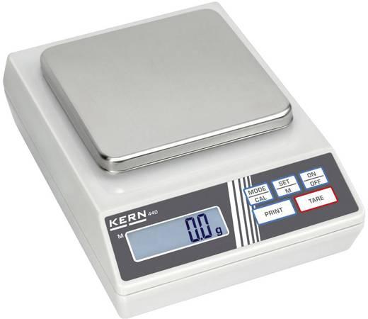 Präzisionswaage Kern 440-51N Wägebereich (max.) 4 kg Ablesbarkeit 1 g netzbetrieben, batteriebetrieben, akkubetrieben Silber