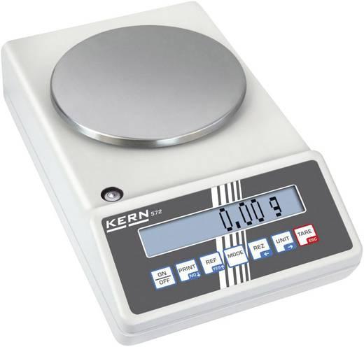 Präzisionswaage Kern 572-33 Wägebereich (max.) 1.6 kg Ablesbarkeit 0.01 g netzbetrieben, akkubetrieben Silber