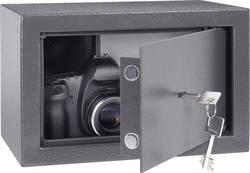 Ocelový sejf na klíč 20, 310x 200 x 200 mm, antracit - Conrad Electronic 20 - Conrad Electronic 20