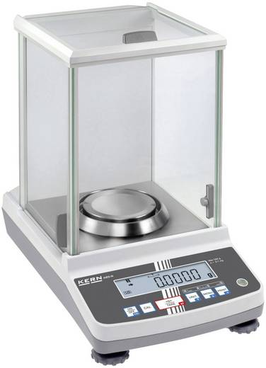 Analysewaage Kern ABS 120-4N Wägebereich (max.) 120 g Ablesbarkeit 0.1 g netzbetrieben Silber