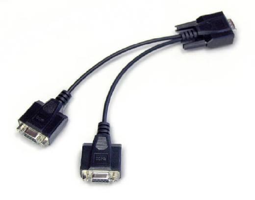 Kern CFS-A04 Y-Kabel zum parallelen Anschluss von zwei Endgeräten an die RS-232-Datenschnittstelle der Waage