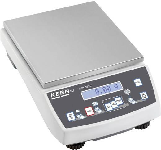 Zählwaage Kern CKE 3600-2 Wägebereich (max.) 3.6 kg Ablesbarkeit 0.01 g netzbetrieben, batteriebetrieben, akkubetrieben Silber