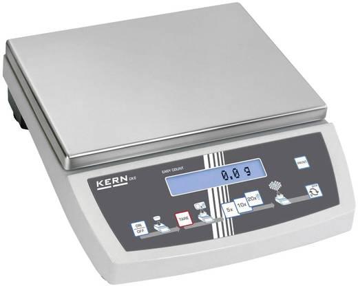 Zählwaage Kern CKE 8K0.05 Wägebereich (max.) 8 kg Ablesbarkeit 0.05 g netzbetrieben, batteriebetrieben, akkubetrieben Silber
