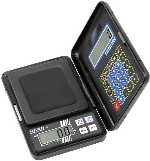 Taschenwaage Kern Wägebereich (max.) 1 kg Ablesbarkeit 1 g batteriebetrieben Schwarz