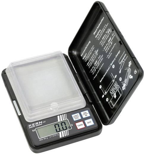 Taschenwaage Kern CM 50-C2N Wägebereich (max.) 10 g Ablesbarkeit 0.002 g batteriebetrieben Schwarz