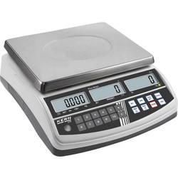 Počítacia váha Kern Max.váživosť 15 kg, Presnosť 1 g, 2 g, strieborná
