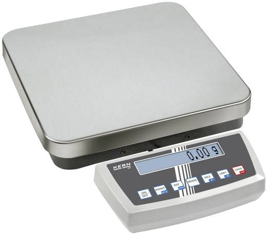 Plattformwaage Kern Wägebereich (max.) 30 kg Ablesbarkeit 0.1 g netzbetrieben, akkubetrieben Silber