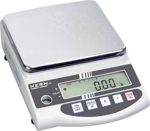 Präzisionswaage Kern EG 2200-2NM Wägebereich (max.) 2.2 kg Ablesbarkeit 0.1 g netzbetrieben, akkubetrieben Silber