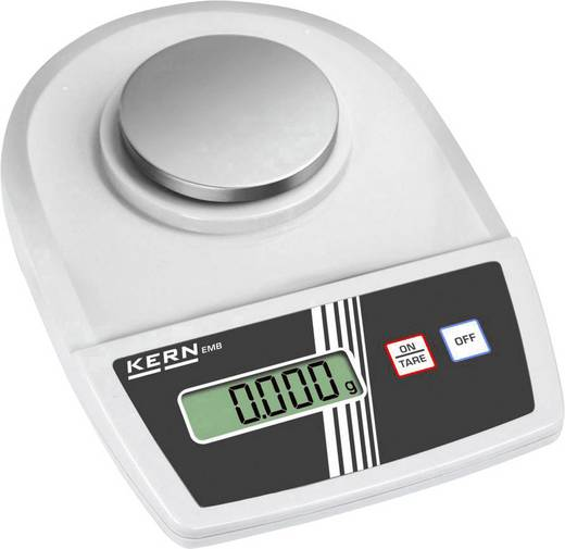 Briefwaage Kern EMB 100-3 Wägebereich (max.) 0.1 kg Ablesbarkeit 0.001 g netzbetrieben, batteriebetrieben Silber