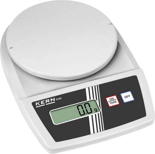 Briefwaage Kern Wägebereich (max.) 3 kg Ablesbarkeit 0.1 g netzbetrieben, batteriebetrieben Silber