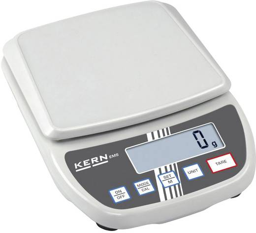 Briefwaage Kern Wägebereich (max.) 0.3 kg Ablesbarkeit 0.001 g netzbetrieben, batteriebetrieben Grau