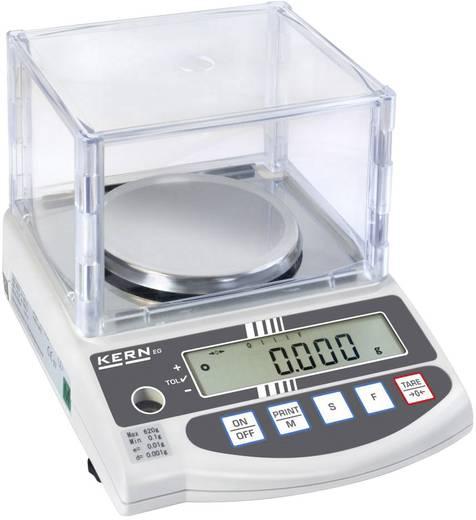 Präzisionswaage Kern EW 620-3NM Wägebereich (max.) 620 g Ablesbarkeit 0.001 g netzbetrieben, akkubetrieben Silber