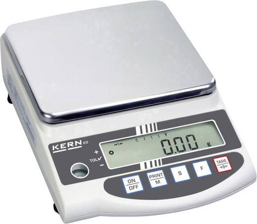 Präzisionswaage Kern EW 820-2NM Wägebereich (max.) 820 g Ablesbarkeit 0.01 g netzbetrieben, akkubetrieben Silber