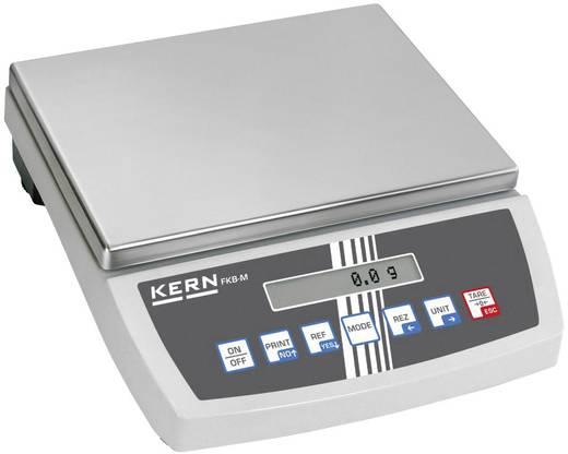 Tischwaage Kern FKB 15K0.5A Wägebereich (max.) 15 kg Ablesbarkeit 0.5 g netzbetrieben, batteriebetrieben, akkubetrieben