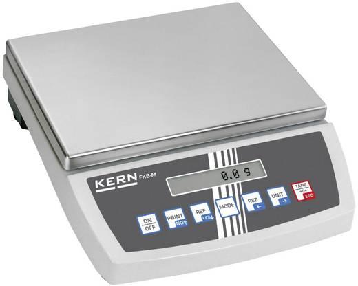 Tischwaage Kern FKB 16K0.1 Wägebereich (max.) 16 kg Ablesbarkeit 0.1 g netzbetrieben, batteriebetrieben, akkubetrieben Silber