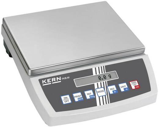 Tischwaage Kern FKB 8K0.1M Wägebereich (max.) 8 kg Ablesbarkeit 0.1 g netzbetrieben, batteriebetrieben, akkubetrieben Silber
