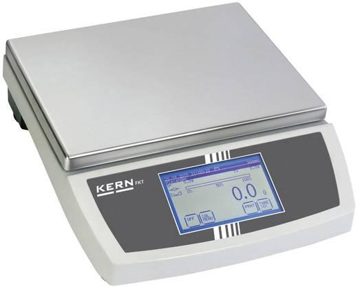 Tischwaage Kern FKT 30K0.5L Wägebereich (max.) 30 kg Ablesbarkeit 0.5 g netzbetrieben, batteriebetrieben, akkubetrieben Silber