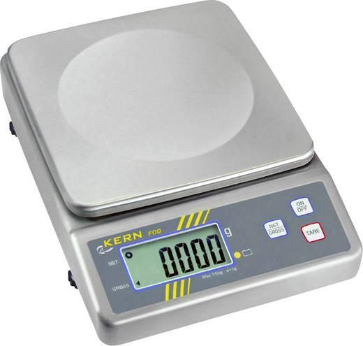Briefwaage Kern FOB 15K1L Wägebereich (max.) 15 kg Ablesbarkeit 1 g netzbetrieben, akkubetrieben Silber