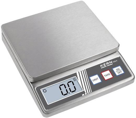 Briefwaage Kern FOB 500-1S Wägebereich (max.) 0.5 kg Ablesbarkeit 0.1 g batteriebetrieben Silber