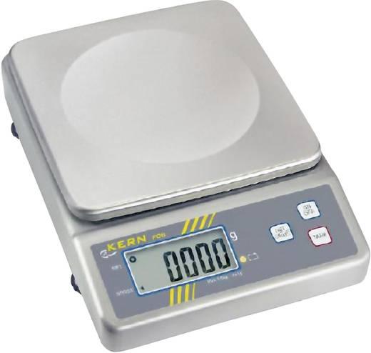Briefwaage Kern Wägebereich (max.) 6 kg Ablesbarkeit 2 g netzbetrieben, batteriebetrieben, akkubetrieben Silber