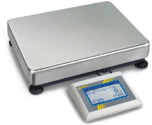 Plattformwaage Kern Wägebereich (max.) 10 kg Ablesbarkeit 0.1 g netzbetrieben, akkubetrieben Silber