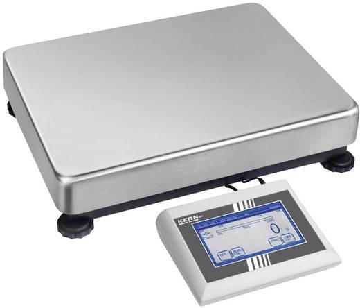 Plattformwaage Kern Wägebereich (max.) 12 kg Ablesbarkeit 2 g netzbetrieben Silber