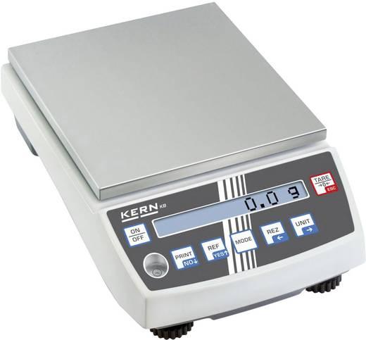 Präzisionswaage Kern KB 10000-1N Wägebereich (max.) 10 kg Ablesbarkeit 0.1 g netzbetrieben, akkubetrieben Silber