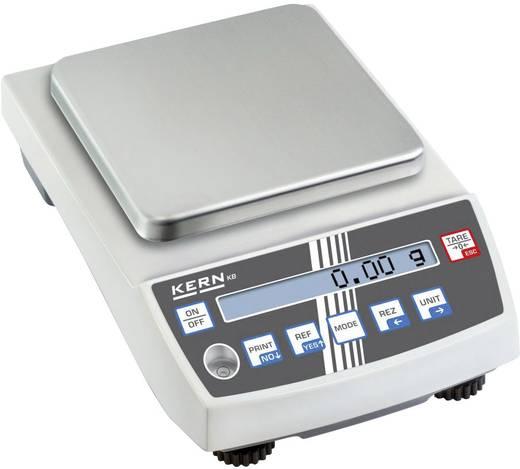 Präzisionswaage Kern KB 2000-2N Wägebereich (max.) 2 kg Ablesbarkeit 0.01 g netzbetrieben, akkubetrieben Silber