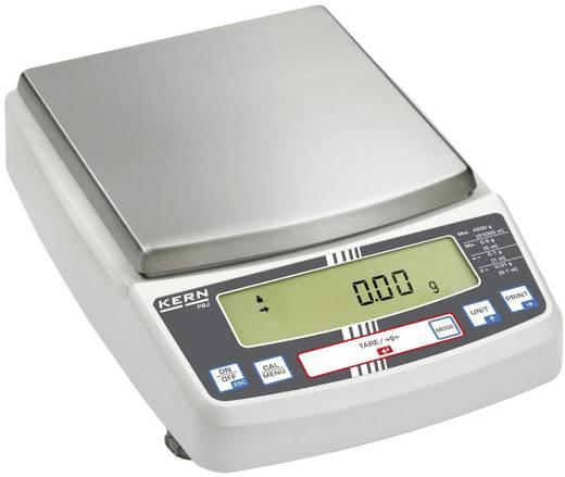 Laborwaage Kern PBJ 6200-2M Wägebereich (max.) 6.2 kg Ablesbarkeit 0.01 g netzbetrieben Silber