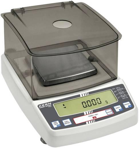 Laborwaage Kern PBS 620-3M Wägebereich (max.) 620 g Ablesbarkeit 0.001 g netzbetrieben Silber