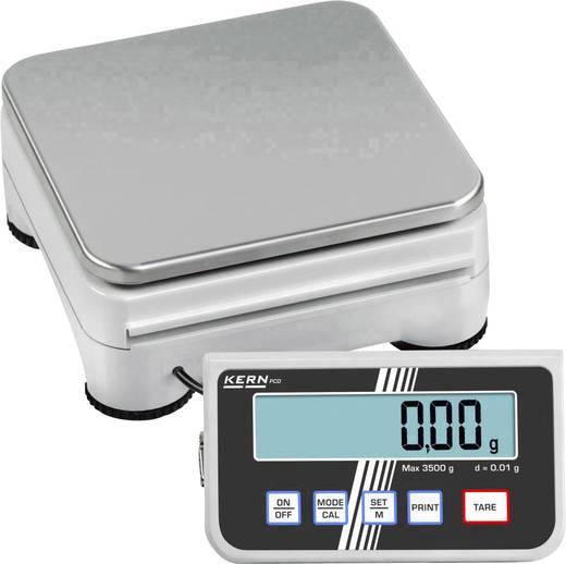 Präzisionswaage Kern PCD 10K0.1 Wägebereich (max.) 10 kg Ablesbarkeit 0.1 g netzbetrieben, batteriebetrieben, akkubetrieben Silber