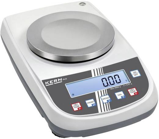 Präzisionswaage Kern PLJ 6200-2A Wägebereich (max.) 6.2 kg Ablesbarkeit 0.01 g netzbetrieben, akkubetrieben Silber