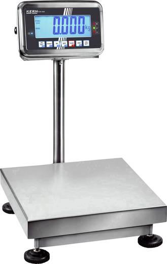 Plattformwaage Kern Wägebereich (max.) 100 kg Ablesbarkeit 10 g netzbetrieben, akkubetrieben Silber