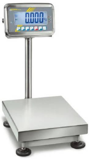 Plattformwaage Kern SFB 30K10HIPM Wägebereich (max.) 30 kg Ablesbarkeit 10 g netzbetrieben, akkubetrieben Silber