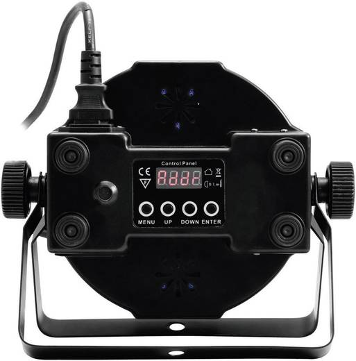 LED-PAR-Scheinwerfer Eurolite LED SLS-144 Floor Anzahl LEDs: 144 x Schwarz
