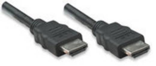 Manhattan HDMI Anschlusskabel [1x HDMI-Stecker - 1x HDMI-Stecker] 10 m Schwarz