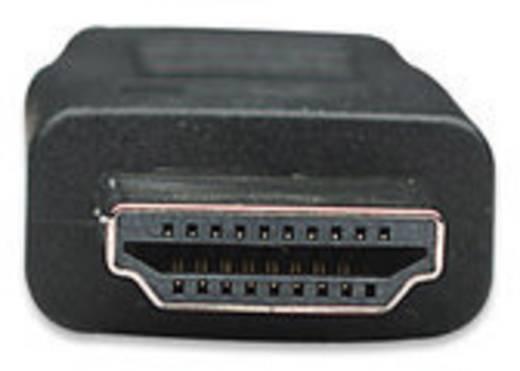 HDMI Anschlusskabel [1x HDMI-Stecker - 1x HDMI-Stecker] 5 m Schwarz Manhattan