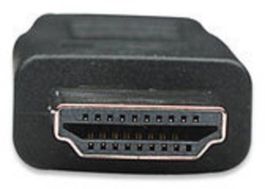 HDMI Anschlusskabel [1x HDMI-Stecker - 1x HDMI-Stecker] 7.50 m Schwarz Manhattan
