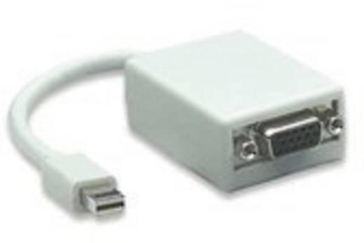 Manhattan VGA / DisplayPort Adapter [1x Mini-DisplayPort Stecker - 1x VGA-Buchse] Weiß