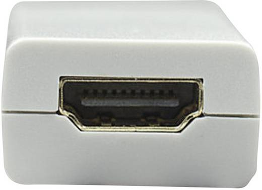 HDMI / DisplayPort Adapter [1x Mini-DisplayPort Stecker - 1x HDMI-Buchse] Weiß Manhattan