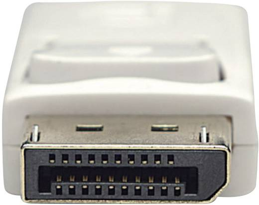 Manhattan DisplayPort Anschlusskabel [1x Mini-DisplayPort Stecker - 1x DisplayPort Stecker] 3 m Weiß